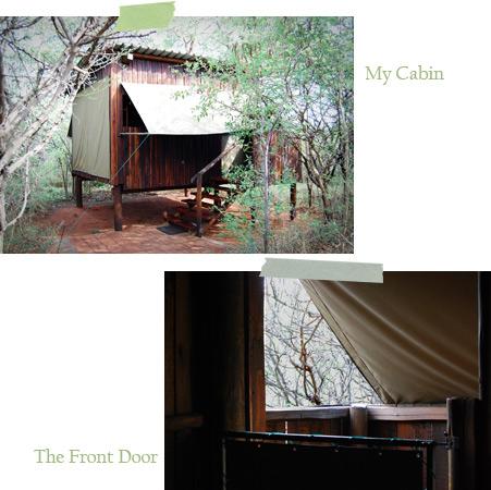 Cabin-and-door